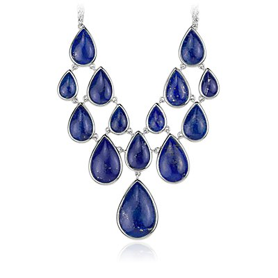 Colliers Impression Lapis en argent sterling (19,05 x 12,7 mm)