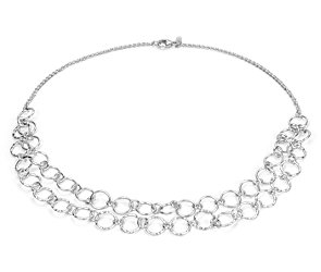 Layering Necklace in Sterling Silver