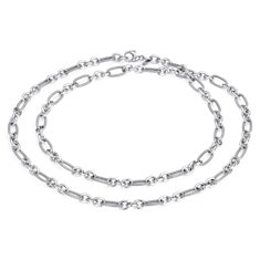 Layering Necklace in Sterling Silver - 36""