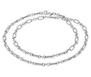 Layering Necklace in Sterling Silver - 36