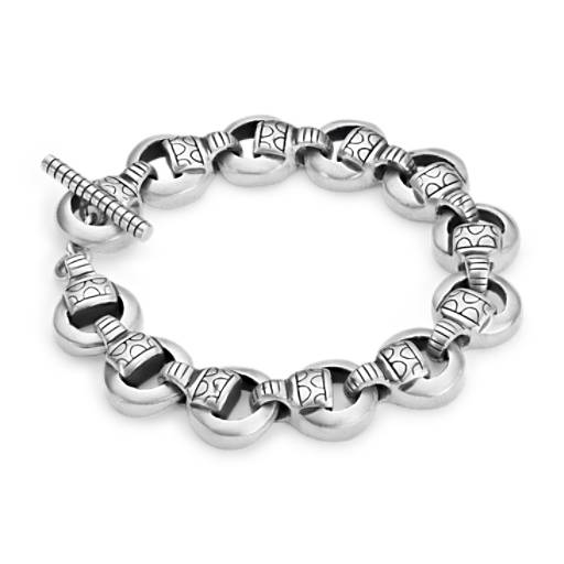 Lisa Jenks Linked Bracelet in Sterling Silver