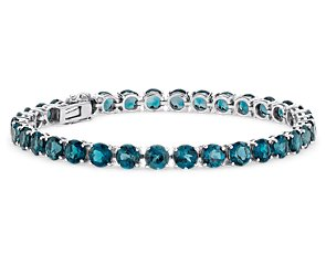 London Blue Bracelet (5mm) in Sterling Silver
