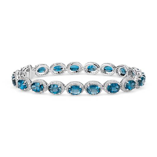 London Blue Topaz Bracelets 56