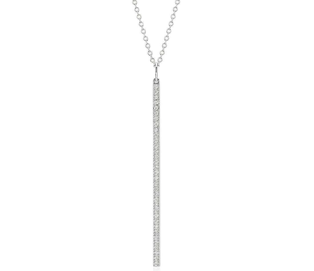 sapphire gold long image diamond finnies pendant white jewellers the uncategorised