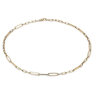 Long-Link Necklace in 18k Yellow Gold