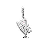 """Dije con la palabra """"LOVE"""" en plata de ley"""