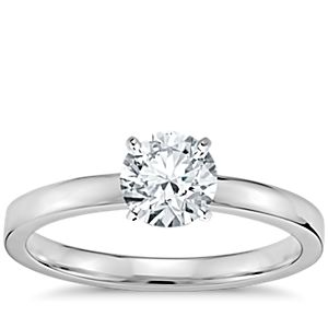 Birks Solitaire Diamond Ring North East South West Position