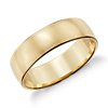Low Dome Wedding Band in 14k Yellow Gold (6mm)