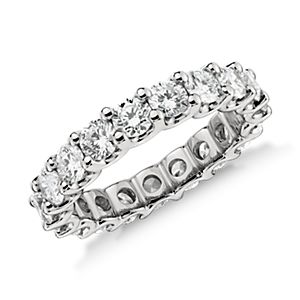 Luna Diamond Eternity Ring in Platinum (3 ct. tw.)