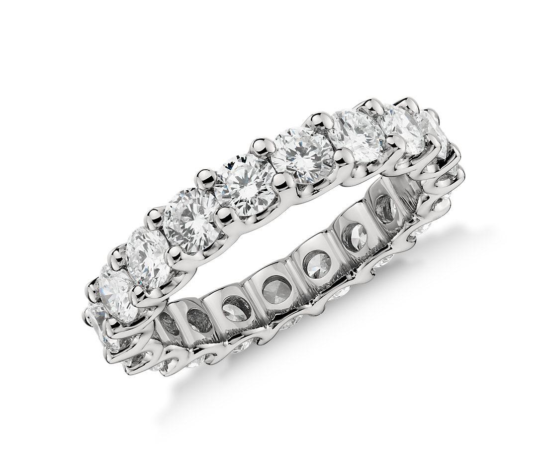Luna Diamond Eternity Ring in Platinum (3 ct. tw.)