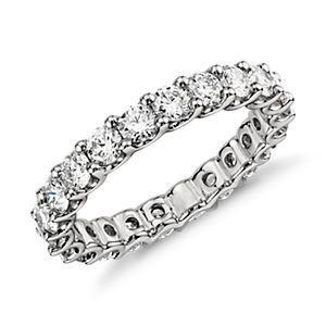 Luna Diamond Eternity Ring in Platinum (2 ct. tw.)