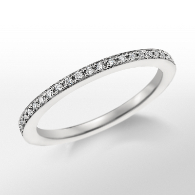 Monique Lhuillier Pavé Wedding Band