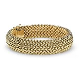 Mesh Bracelet in 14k Yellow Gold