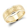 Milgrain Wedding Band in 14k Yellow Gold (7mm)