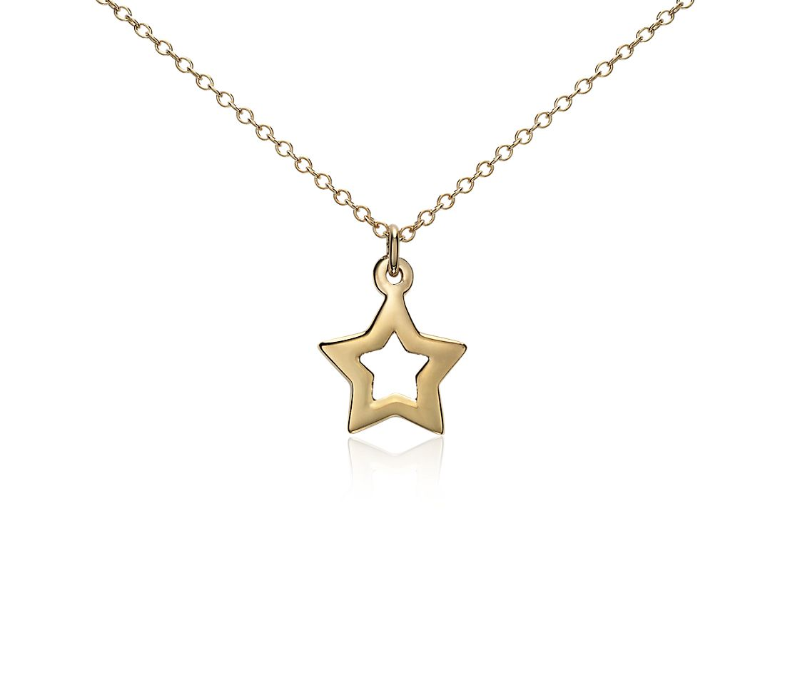 Mini Star Pendant in Yellow Gold Vermeil