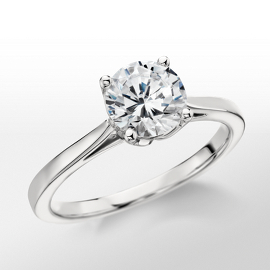 Monique Lhuillier Cathedral Solitaire