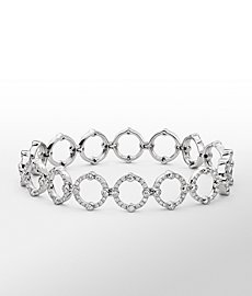 Monique Lhuillier Deco Diamond Bracelet