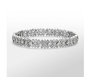 Monique Lhuillier Diamond XO Bracelet