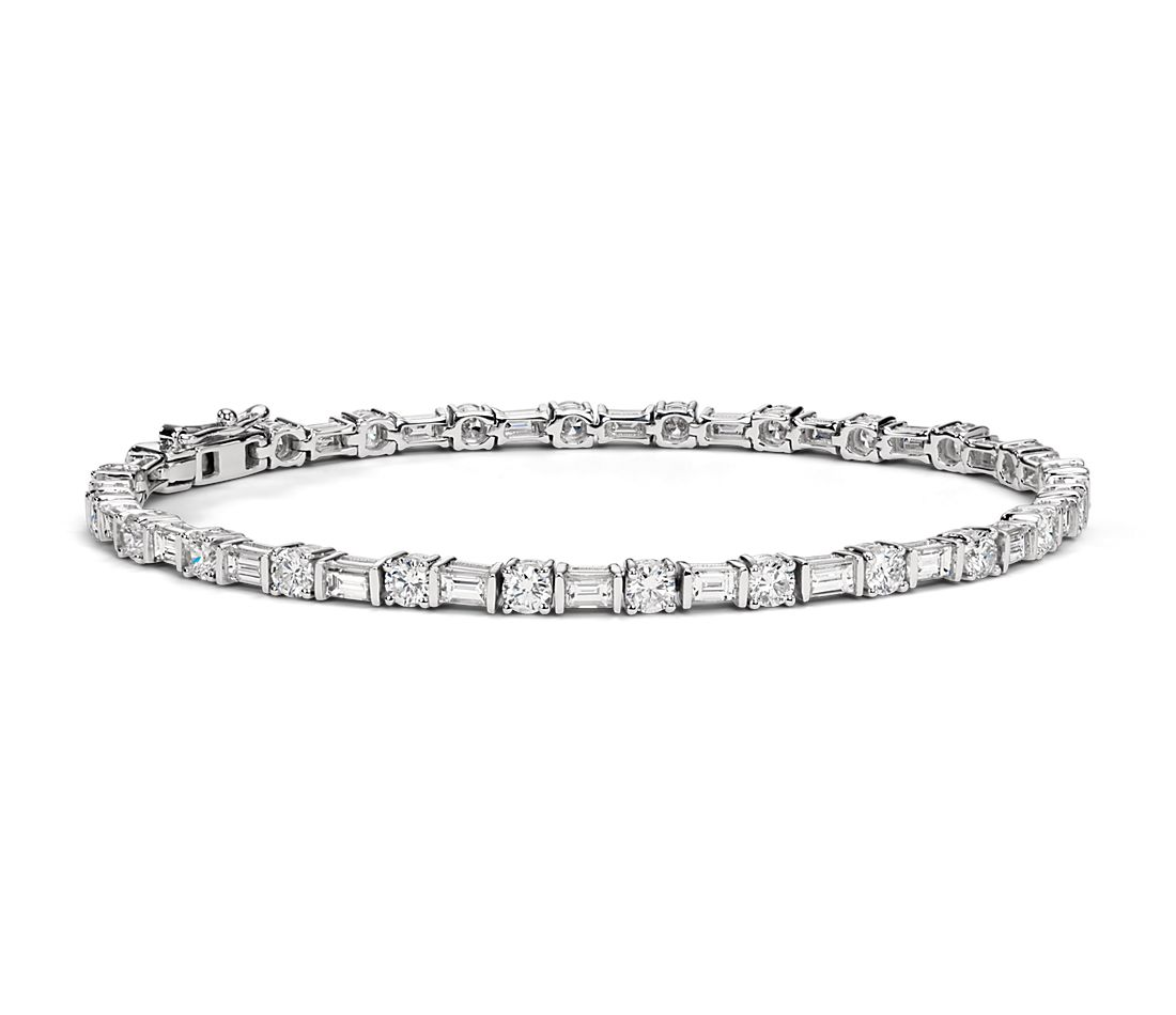 Monique Lhuillier Tennis Bracelet in 18k White Gold