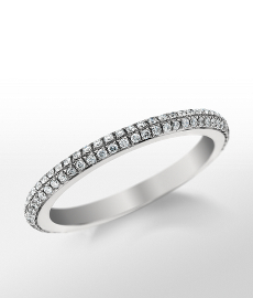 Monique Lhuillier Double Diamond Ring