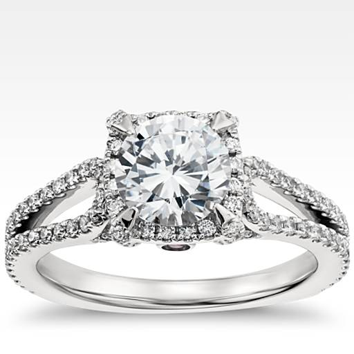 Design Your Own Engagement Ring - Choose A Setting