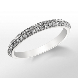 Bague en diamant Monique Lhuillier