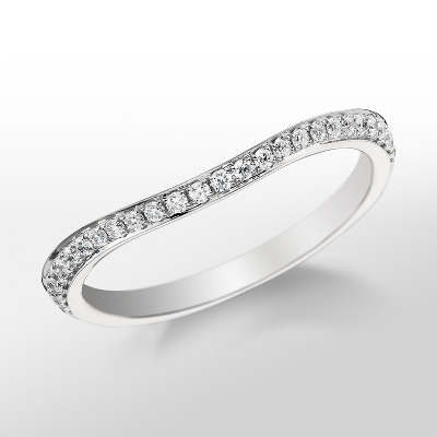 Monique Lhuillier Pavé Diamond Ring