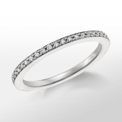 Monique Lhuillier Pavé Diamond Ring