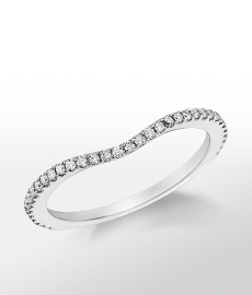 Monique Lhuillier Pavé-Set Diamond Ring