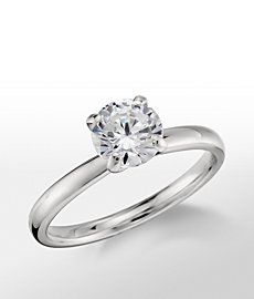Monique Lhuillier Amour Solitaire Engagement Ring