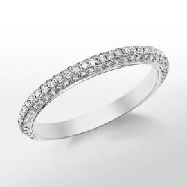 Monique Lhuillier Trio Diamond Ring