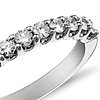 Monique Lhuillier U-Prong Diamond Ring in Platinum (3/5 ct. tw.)