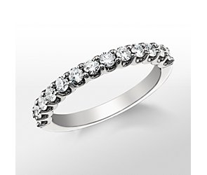 Monique Lhuillier U-Claw Diamond Ring