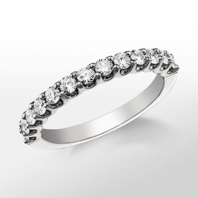 Monique Lhuillier U-Prong Diamond Ring
