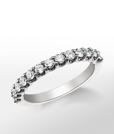 Monique Lhuillier U-Prong Diamond Ring