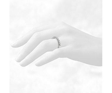 Monique Lhuillier U-Prong Diamond Ring in Platinum (3/5 ct. tw.)
