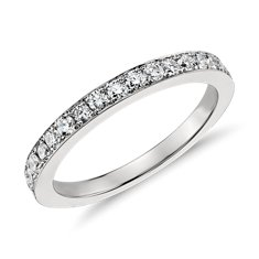 Monique Lhuillier Diamond Ring in Platinum
