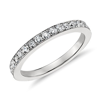 Monique Lhuillier Diamond Ring in Platinum (2/3 ct. tw.)
