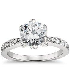 Monique Lhuillier Diamond Ring In Platinum (2/3 Ct. Tw