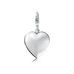 Mother's Day Sweetheart Locket Charm in Sterling Silver