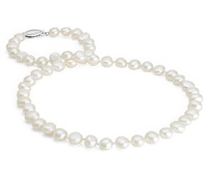 Baroque Freshwater Cultured Pearl Strand (18