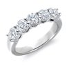 Blue Nile Signature Five-Stone Diamond Ring in Platinum (1 1/2 ct. tw.)