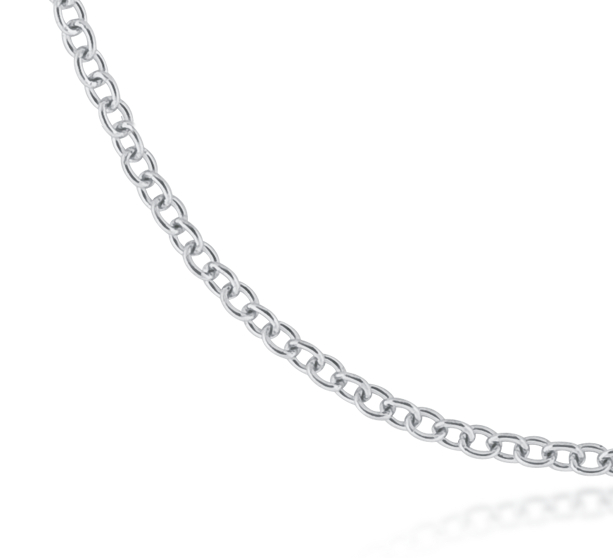 Cable Chain in Platinum