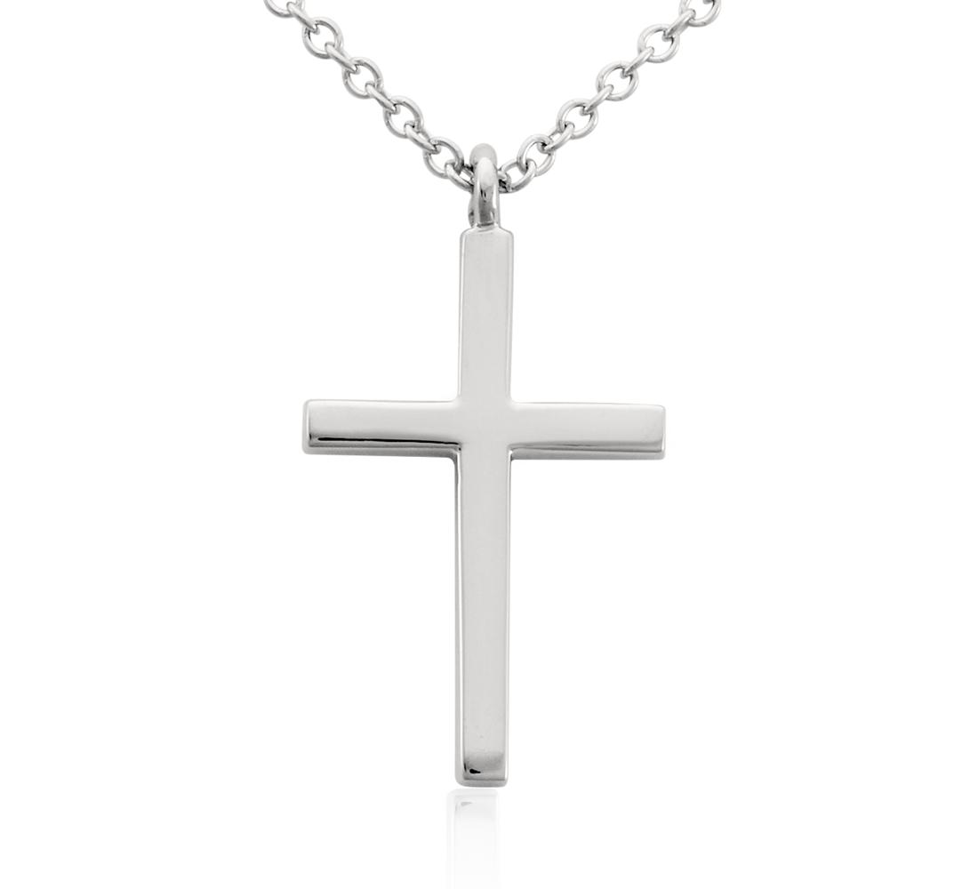 Cross Pendant in Platinum