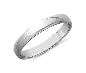 Classic Wedding Ring in Platinum (3mm)