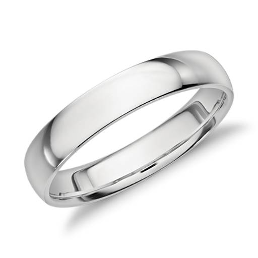 Milgrain Comfort Fit Wedding Ring In Platinum 6mm: Mid-weight Comfort Fit Wedding Band In Platinum (6mm