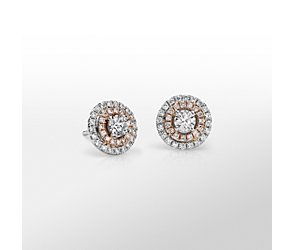 Monique Lhuillier Double Halo Earrings