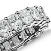 Radiant Cut Diamond Eternity Ring in Platinum (6.00 ct. tw.)