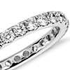 Riviera Pave Diamond Eternity Ring in 14k White Gold (1 ct. tw.)