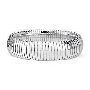 Bracelet serpentin en argent sterling